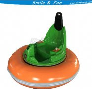 Laser Shot Hooting Hurricane Bumper Car for Adults