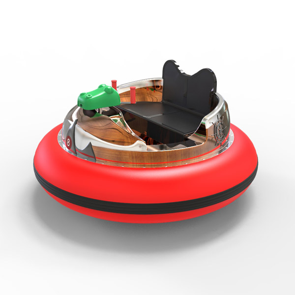 laser shooting bumpper boat -red2