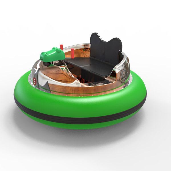 laser shooting bumpper boat -green 2