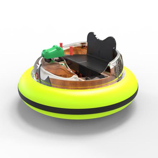 laser shooting bumpper boat -yellow